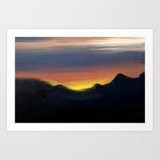 Paint the Sky Art Print
