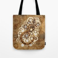 Steampunk Gecko Lizard V… Tote Bag