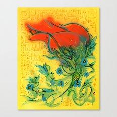 Rosetta Canvas Print