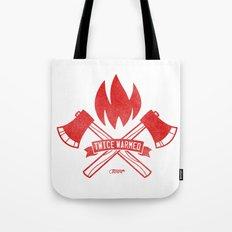 Twice Warmed Tote Bag