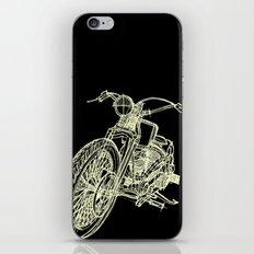 MOTOR BLACK iPhone & iPod Skin