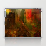Pyramidal City Laptop & iPad Skin