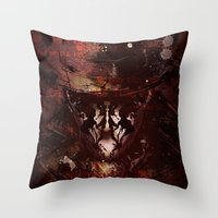 Tonight, A Comedian Died… Throw Pillow