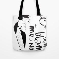 Blame me not - Emilie R. Tote Bag