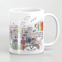 soccer and lifestyle, davis Mug