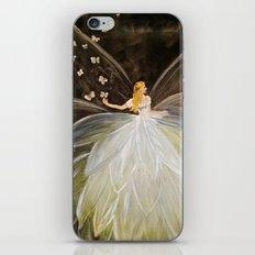 Golden Butterfly Fairy iPhone & iPod Skin