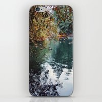 Heavenly Pond in Franklin Canyon Park, CA iPhone & iPod Skin