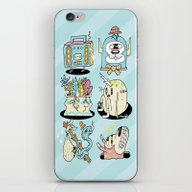 The Gangs All Here iPhone & iPod Skin