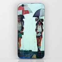 Rain Hiking iPhone & iPod Skin
