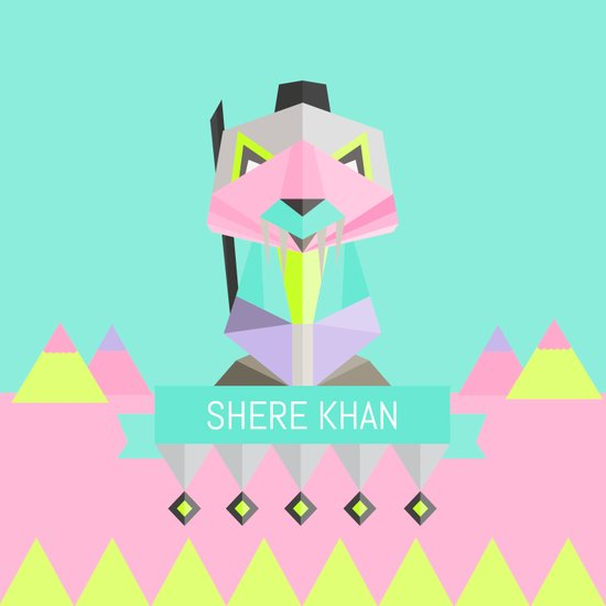 Our lovely pets -3 Shere Khan Art Print