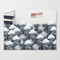 Queue Line Canvas Print