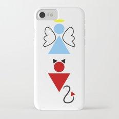 Dengel (Angel + Devil) iPhone 7 Slim Case