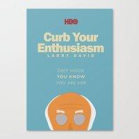 Curb Your Enthusiasm - H… Canvas Print