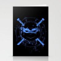Leonardo Turtle Stationery Cards
