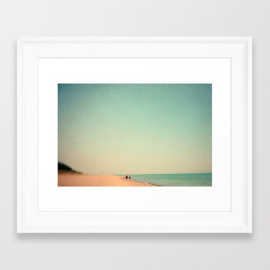 Two By Sea Framed Art Print