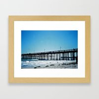 The Pier 01 Framed Art Print
