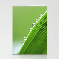 On The Edge Of Green - W… Stationery Cards