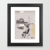 Additional poster design- The Wichcombe Experience Framed Art Print