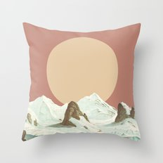 MTN II Throw Pillow