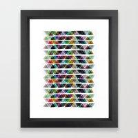 ∆ VII Framed Art Print