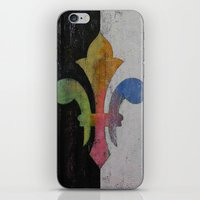 Fleur De Lis iPhone & iPod Skin