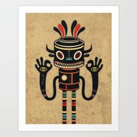 Tribe Gathering Art Print