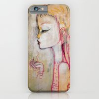 iPhone & iPod Case featuring Tornado Lady by LITTLE SOUL
