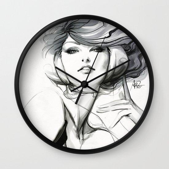 Pepper Bella Wall Clock