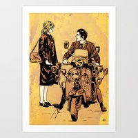 Quadrophenia Art Print