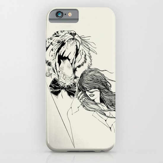 The Tiger's Roar iPhone & iPod Case
