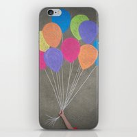 Up Up And Away iPhone & iPod Skin