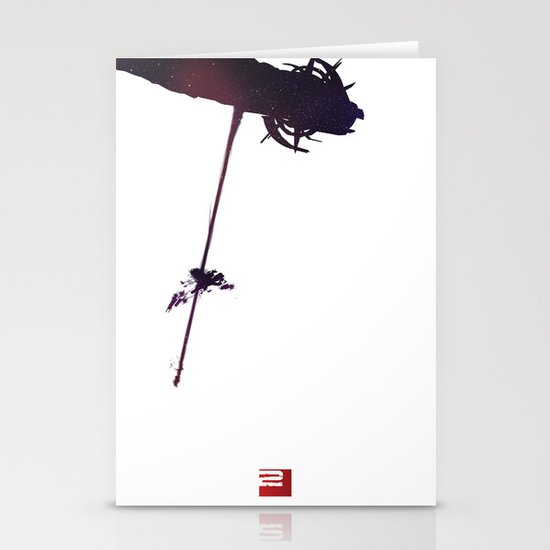 Mass Effect 2 (w/quote) Stationery Card