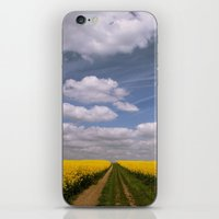 Clouds and Flowers iPhone & iPod Skin