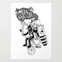MonoScuba Art Print