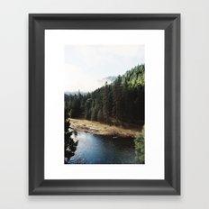 The Trinity River  Framed Art Print