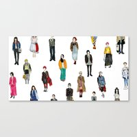 Japanese Street Snap Canvas Print