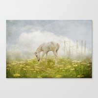Greener Pastures Canvas Print