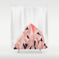 Mount Pios Right Shower Curtain