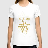 rock T-shirts featuring My Favorite Shape by Krissy Diggs