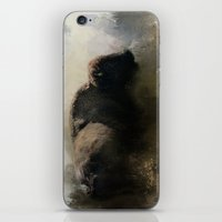 Abstract American Bison iPhone & iPod Skin