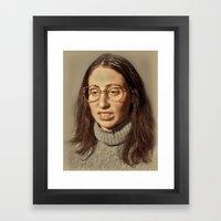 I.am.nerd. :: Lauren S. Framed Art Print