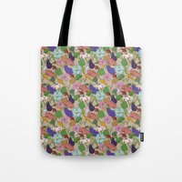 Vegetable Flowers Tote Bag