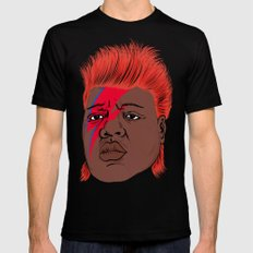 Biggie Stardust Black SMALL Mens Fitted Tee