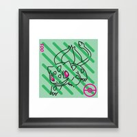 B-001 Framed Art Print