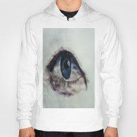 Watercolor Eye Hoody