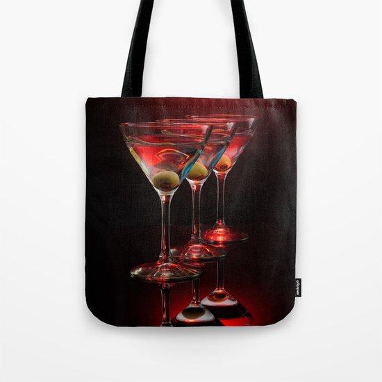 Red hot martinis. Tote Bag