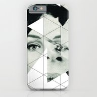 iPhone & iPod Case featuring Frau Mit Dreieck 3 by Marko Köppe