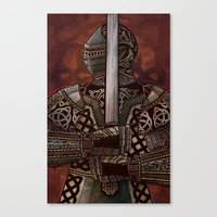 The Knotted Knight Canvas Print