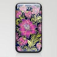 Shabby Flowers #1 iPhone & iPod Skin
