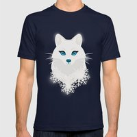 Arctic Fox Princess Mens Fitted Tee Navy SMALL